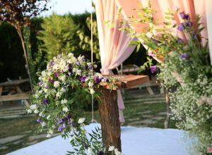 Nikah Kürsüsü Çiçek Süsleme
