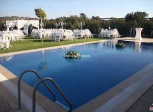 Havuz Başında Düğün Organizasyonu İzmir