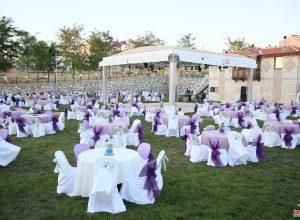 İzmir Düğün Organizasyonu Kumaş ve Tül Süsleme