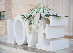 Nikah Masası Çiçek Süsleme