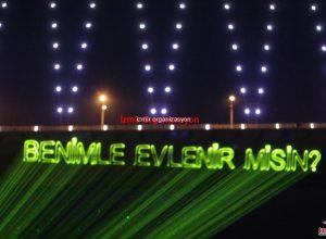 İzmir Lazer Gösterisi