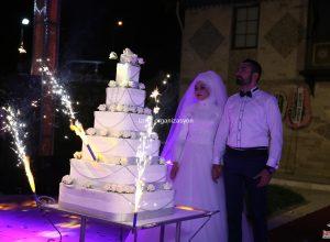 Yuvarlak Düğün Pastası İzmir Organizasyon