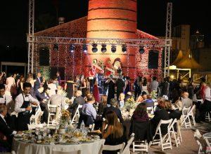 Işık Şelalesi ve Ses Sistemi Kiralama İzmir Düğün Organizasyonu