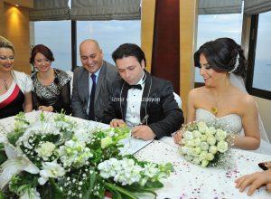 Otelde Düğün Organizasyonu Çiçek Süsleme