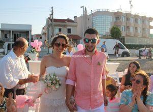 İzmir'de Yaz Düğünü Organizasyonu Kumsalda Düğün Organizasyonu