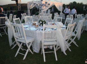 İzmir Düğün Organizasyonu Masa Kiralama