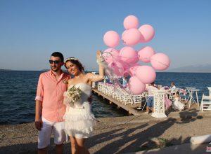 Deniz Temalı Düğün Organizasyonu İzmir