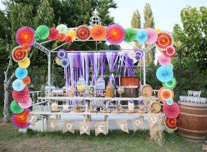 Şeker Temalı Düğün Organizasyonu İzmir
