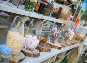 İzmir Düğün Organizasyonu Şeker Temalı Düğün Organizasyonu ve Catering Ekipmanları Kiralama