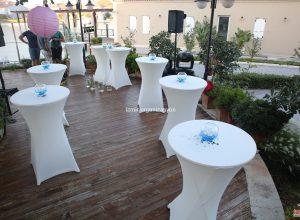 Bistro Masa Kiralama ve Süsleme İzmir Düğün Organizasyonu