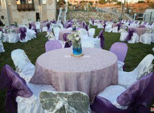 İzmir Düğün Organizasyonu Masa Süsleme