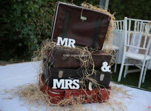 Eski Tip Bavul Temini ve Düğün Organizasyonu Süsleme Servisi