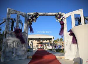 Kapı Takı Kiralama ve Çiçek Süsleme Düğün Organizasyonu İzmir
