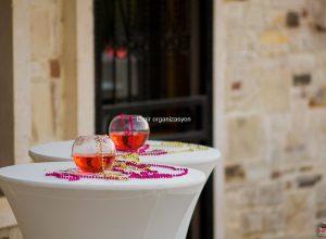 Düğün Organizasyonu Bistro Masa Kiralama ve Süsleme İzmir