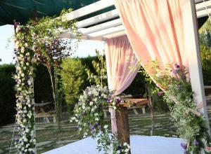 Nikah Kürsüsü Kiralama ve Çiçek Süsleme İzmir Organizasyon
