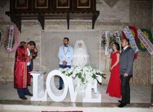 Düğün Organizasyonu ve Nikah Organizasyonu Tül Süsleme Nikah Masası Kiralama