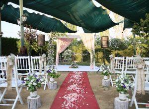 Nikah Organizasyonu ve Kır Düğünü Konsepti Çiçek Süsleme