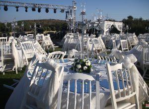 İzmir Düğün Organizasyonu Masa ve Sandalye Kiralama Fotoğrafçı Temini