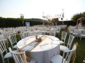 Düğün Organizasyonu Hazırlıkları Masa ve Sandalye Süsleme İzmir