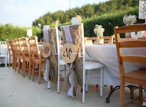Gelin ve Damat Sandalyesi Süsleme İzmir