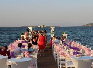 İzmir Kumsal Düğünü Organizasyonu