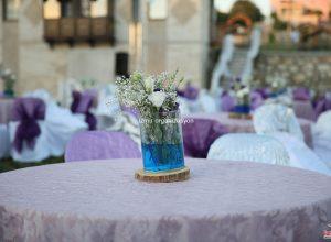 Düğün Organizasyonu Masa Süsleme