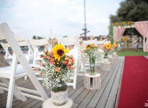 Yürüyüş Yolu Çiçek Süsleme İzmir Organizasyon
