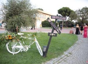 Bisiklet Dekoru Çiçek Süsleme Havagazı Fabrikası İzmir Organizasyon