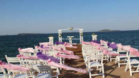Urla İskelede Düğün Organizasyonu