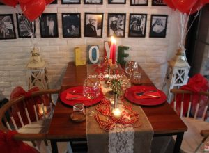 Kafede Evlilik Teklifi Organizasyonu Süsleme Servisi