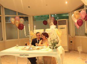 Nişan Masası Süsleme ve Uçan Balon Servisi İzmir