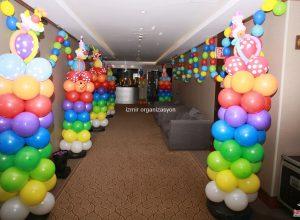 İzmir Sünnet Organizasyonu Balon Süsleme Servisi
