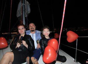 Yatta Evlilik Yıl Dönümü Organizasyonu Körfez Turu İzmir