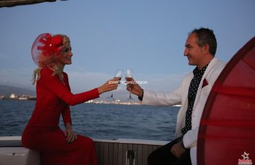 Körfezde Romantik Evlilik Yıl Dönümü Organizasyonu