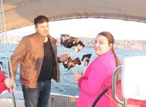 İzmir Teknede Kadın Doğum Günü Organizasyonu