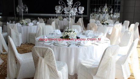Düğün Organizasyonu Masa Kiralama İzmir