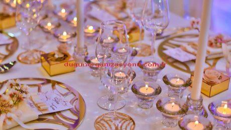 Düğün Organizasyonu Şamdan Kiralama