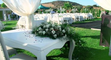 Kır Düğünü Organizasyonu Masa Kiralama