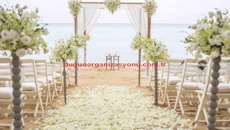 Kumsal Düğün Organizasyonu Süsleme Servisi İzmir