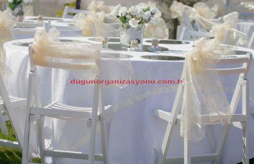 Düğün Organizasyonu Lake Sandalye Kiralama İzmir
