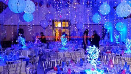 Düğün Organizasyonu Balon Süsleme İzmir